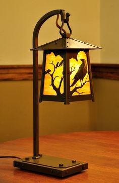Old California Lantern Company - Handmade Bungalow, Cottage, and . Craftsman Lamps, Craftsman Lighting, Craftsman Style, Lamp Design, Lighting Design, Stained Glass Lamps, Light Crafts, Wooden Lamp, Lamp Light