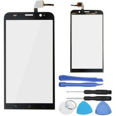 LCD Display Touch Screen Digitizer Glass Assembly Replacement +Tools For Asus Zenfone 2 ZE551ML