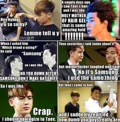 #kpop this is just funny. I don't know how many times I've seen this, but it never gets old!