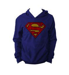 """Sudadera Superman  "" Vatos disponible en www.kingmonster.com.mx"