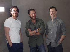 Christian Bale, Tom Hardy & Joseph Gordon Levitt. Heaven!