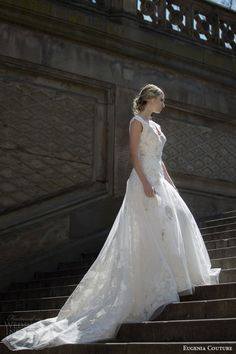 EUGENIA COUTURE #bridal Spring 2016 #Wedding Dresses | Wedding Inspirasi  #weddings #weddinggown #weddingdress