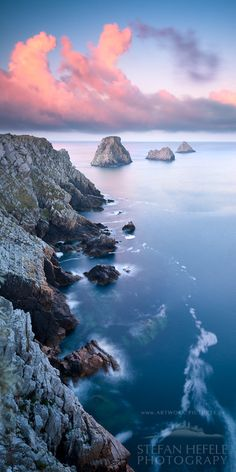 """Tas de Pois"" - Pointe de Pen Hir, Crozon peninsula in Brittany, France"