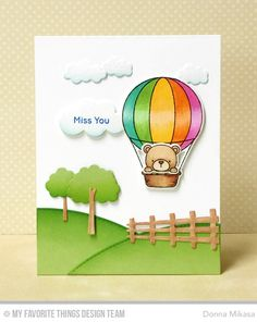It's Day 4 of MFT's April Release Countdown ! This month, Birdie Brown brings us Up in the Air --an adorable set with a hot air ba...