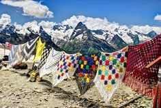 Highland Colors  by  Max Vysota, these should be on the mountains of Nepal Thibet, or?