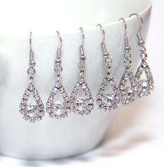 SET of 3 Bridesmaid earrings