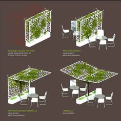 Innovative use of space - let's discover more foldable vertical garden/farming models.