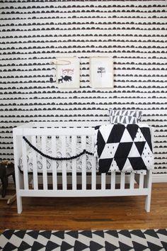 @cdsalem Project Nursery - Black and White Nursery Decor
