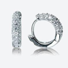 Silver Earrings Silver Hoop Earrings Sterling Silver Earrings - Jewelry FA