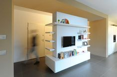 minimalistic Living room by GRAZIANI & DICEMBRINO