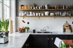 Kök utan överskåp: 75 fantastiska funktionella idéer