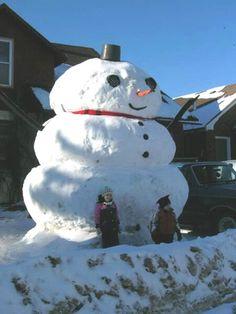 *SNOWMAN ~ by euphori-a, via Flickr