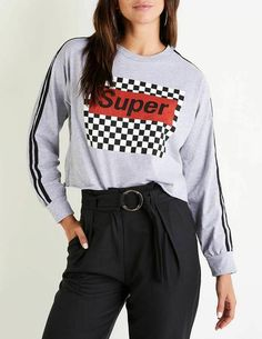 BLTR Women Autumn Crop Top Checkerboard Drawstring Pullover Hoodies Sweatshirt