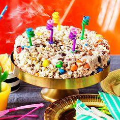 Popcorn-kakku syntyy ilman uunia - Arki - Meidän Perhe