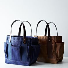 Waxed Tote Bag on Food52