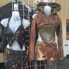 Ready for the apocalypse? Fashions from DeliciousBoutique.com #deliciousboutique #fishtown #philadelphia #phillyfashion #phillyboutique #fashion #alternativefashion #instafashion #slowfashion #independentdesigner #postapocalyptic #postapocalypticfashion #madmax #wastelandweekend #cosplay #burningman #festivalfashion