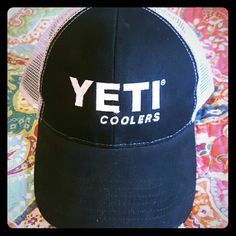 Yeti coolers hat Brand new never worn yeti Accessories Hats