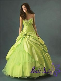 Quinceanera Dresses QC075 Main Fabric: 395 Satin Lining: Rich Satin Beadwork: Upscale Closure: Lace-up Back or Zipper