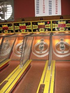 Ski Ball.....I could play this for hours!