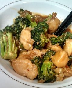 Easy Healthy Chicken with Broccoli