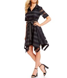 Gianni Bini Elise Scalloped Lace Dress Dillards Rotem