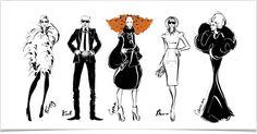 Megan Hess Fashion Illustrator