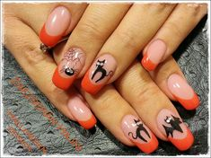 HALLOWEEN DESIGN by zsezsihajni - Nail Art Gallery nailartgallery.nailsmag.com by Nails Magazine www.nailsmag.com #nailart