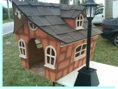 """DOG HOUSE – Yes, that is, in fact, a dog house. To us, it would be """"affordable housing""""."""
