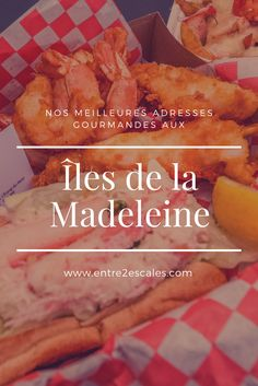 Road Trip, Voici, Islands, Recipes, Food, Simple, Madeleine, Atlantic Pacific, Canada Travel