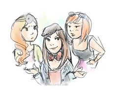 Foxmittens' art blog, So I finally watched the Lizzie Bennet Diaries and...