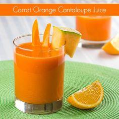 Carrot Orange Cantaloupe Juice