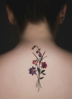 Gorgeous Wildflower Tattoos For Free Spirits Makeup, Beauty, Hair & Skin Pretty Tattoos, Cute Tattoos, Beautiful Tattoos, Mini Tattoos, Small Tattoos, Tatoos, Forearm Tattoos, Body Art Tattoos, New Tattoos