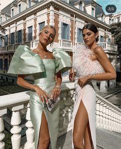 Glam Dresses, Elegant Dresses, Pretty Dresses, Beautiful Dresses, Fashion Dresses, Backless Prom Dresses, Classy Outfits, Chic Outfits, Mode Kimono