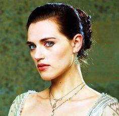 Katie McGrath as the stunning Morgana Pendragon.