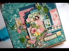 If you like fussy cutting, using your leftovers and scraps you might like this video featuring beautiful papers from Graphic 45 - Children's Hour Collection....