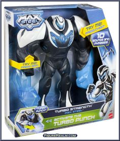 Max Steel toys 2000 | Turbo Strength Max Steel from Max Steel - 2013 Series manufactured by ...