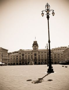 Trieste (Italy): a place I'd like to visit again (many interesting bookshops and coffeeshops) and wouldn't mind to live in for a while because of its personality and its closeness to Venice.