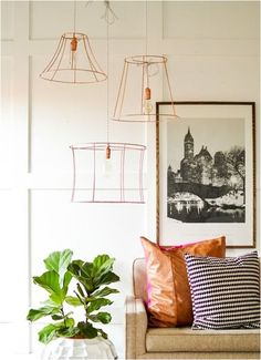 upcycled lampshades vintage revivals. Stinging beads and lace would give off the coolest reflections and mood!