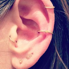 J. Colby Smith #piercings #earpiercings