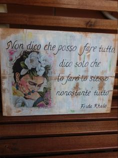 Were All Mad Here, Beautiful Words, Wise Words, Decoupage, Shabby Chic, Etsy, Pictures, Painting, Pin Pin