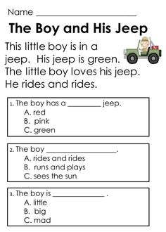 Reading Comprehension Passages designed to help kids learn to answer text-based questions early in t 2nd Grade Reading Comprehension, Reading Fluency, Reading Passages, Guided Reading, Teaching Reading, Free Reading Comprehension Worksheets, Reading Activities, Comprehension Exercises, Reading Groups