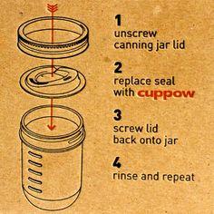 Sippy cup mason jar