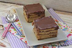 Hace unos meses vi esta receta en Mis Thermorecetas y me enamoré al instante. galletas, dulce de leche y chocolate...¿puede haber una...