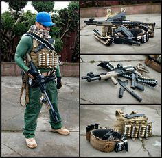 Zombie survival is all the rage as of late. Whether the prepping be real or fake, this gentlemans zombie survival shotgun load out is awesome! Serious primary weapons, sidearms, ammo, and blades! Posted by: Greg Tirico on Zombie Survival Root Source: teotwawkiblog.blogspot.com