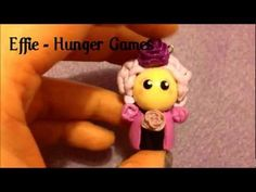 Polymer Clay Chibi Charms   Hunger Games, Indiana Jones