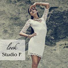 Un vestido que resalta tu figura, delicado y lleno de romanticismo. Luce femenina con #StudioF