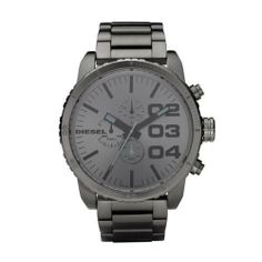 Diesel Men's DZ4215 Advanced Gunmetal Watch Diesel. Save 24 Off!. $169.99. Stainless steel. Chronograph watch. Durable mineral crystal protects watch from scratches,. Band circumference: 200mm. Water-resistant to 10 M (33 feet)