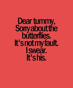 Its not my fault l. Sorry tummy will u still store food in there? Lol