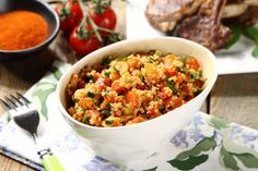 Fried Rice, Salsa, Fries, Grilling, Mexican, Ethnic Recipes, Food, Crickets, Essen