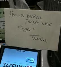 Grocery store humor